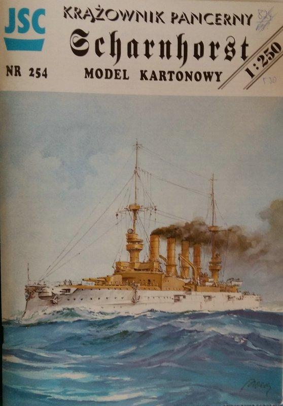 Großer Kreuzer (Panzerkreuzer)  S.M.S. Scharnhorst, JSC, 1/250 geb. von Diwo58 Comp_831