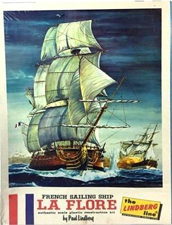 French Fifth Rate La Flore/Vestale 1756 Revell 1/133 Comp_l10