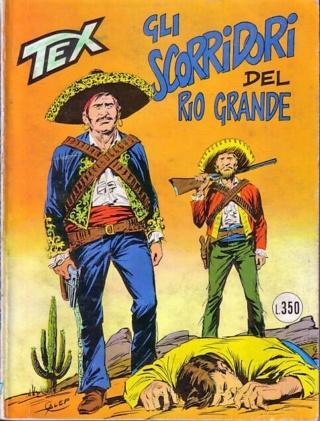 GLI AMANTI DEL RIO GRANDE Tex Color n. 17 Scorri10