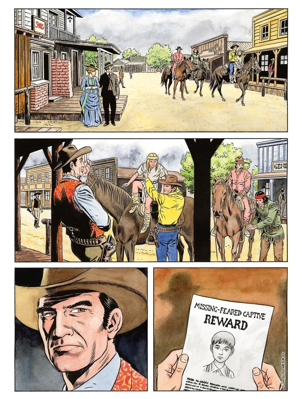 L'apache bianco e altre storie (Tex color n.14) Tex_co12