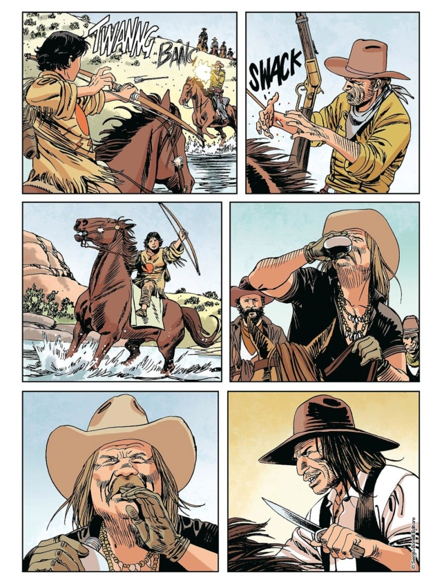 L'apache bianco e altre storie (Tex color n.14) Tex_co14