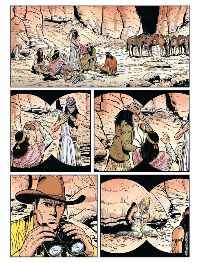 L'apache bianco e altre storie (Tex color n.14) Tex_co15