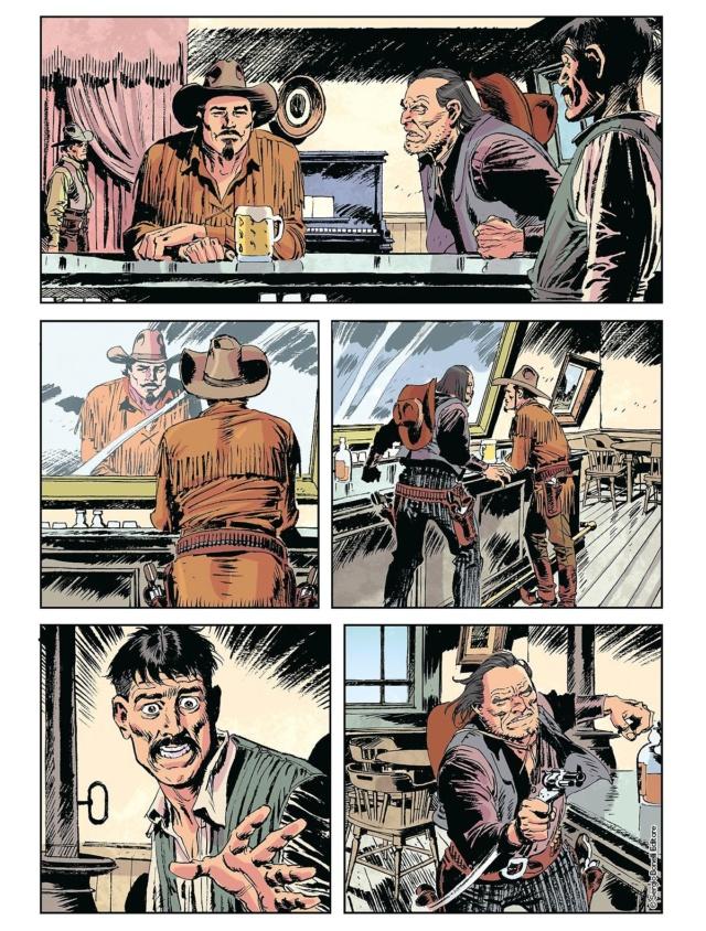 L'apache bianco e altre storie (Tex color n.14) Tex_co18