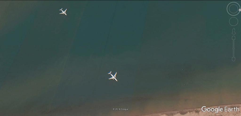 Les avions en phase d'atterrissage aperçus sur Google Earth - Page 3 Kj10