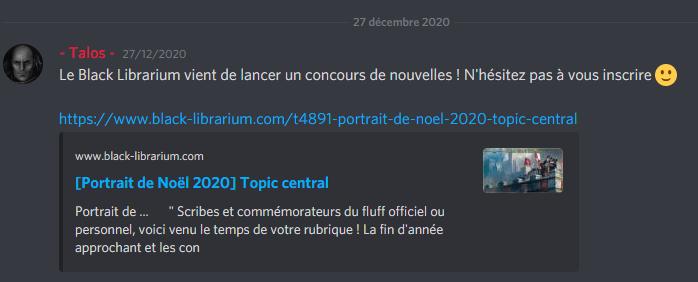 [Portrait de Noël 2020] Maître mineur Boki Durakson [BATTLE] Blackl10