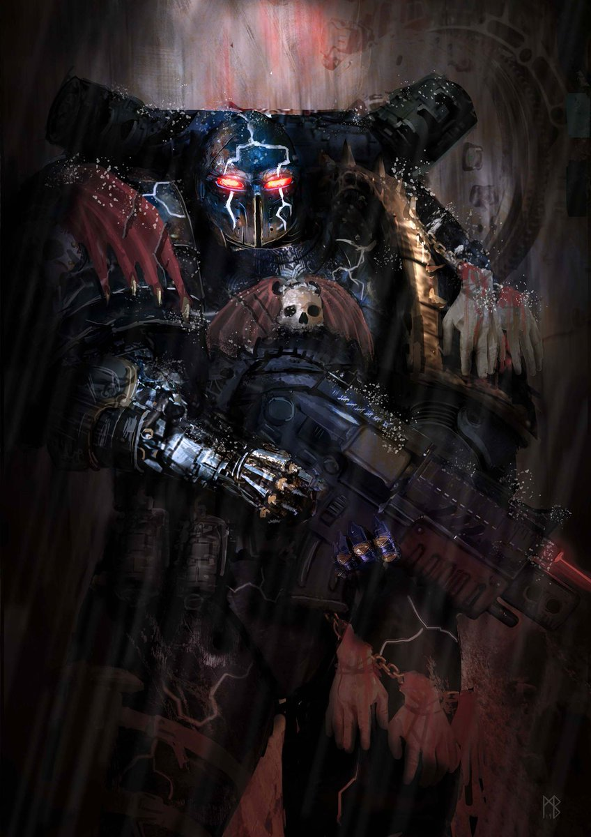 [W40K] Collection d'images : Space Marines du Chaos - Page 13 Cyrion10