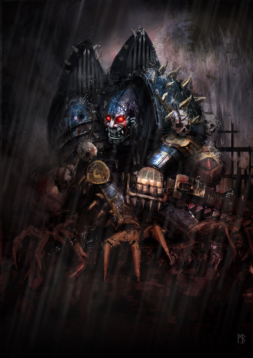 [W40K] Collection d'images : Space Marines du Chaos - Page 13 Lucory10