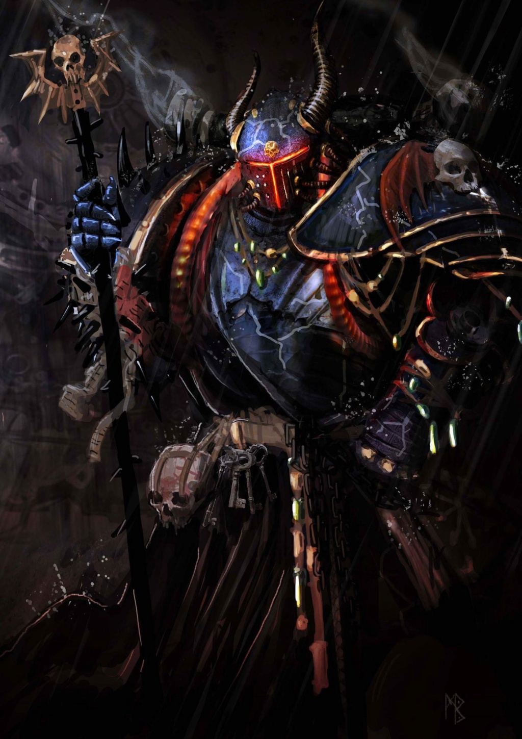 [W40K] Collection d'images : Space Marines du Chaos - Page 13 Ruven10