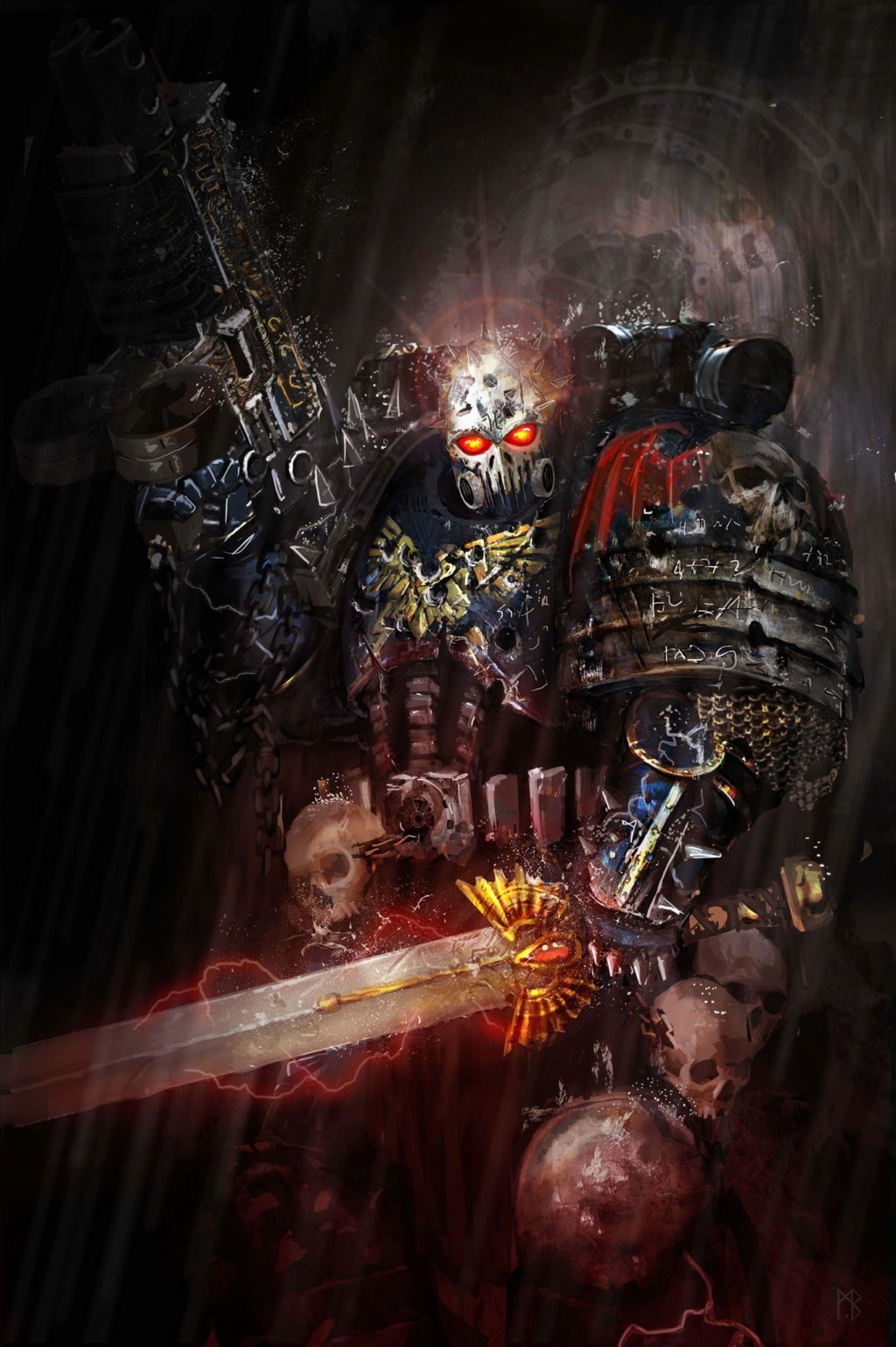 [W40K] Collection d'images : Space Marines du Chaos - Page 13 Talos10