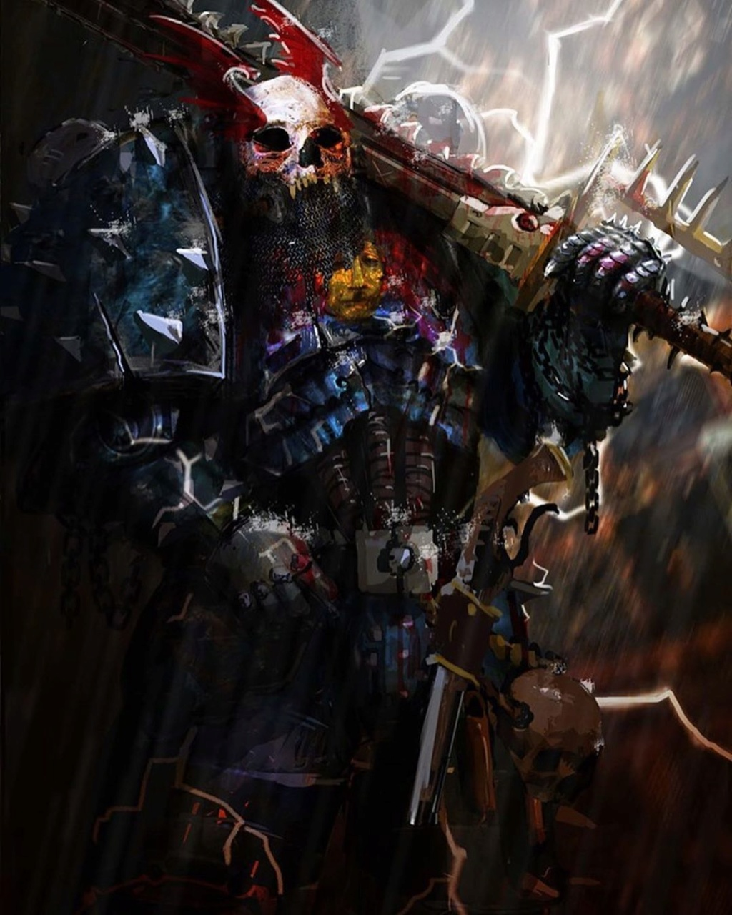 [W40K] Collection d'images : Space Marines du Chaos - Page 13 Xarl10