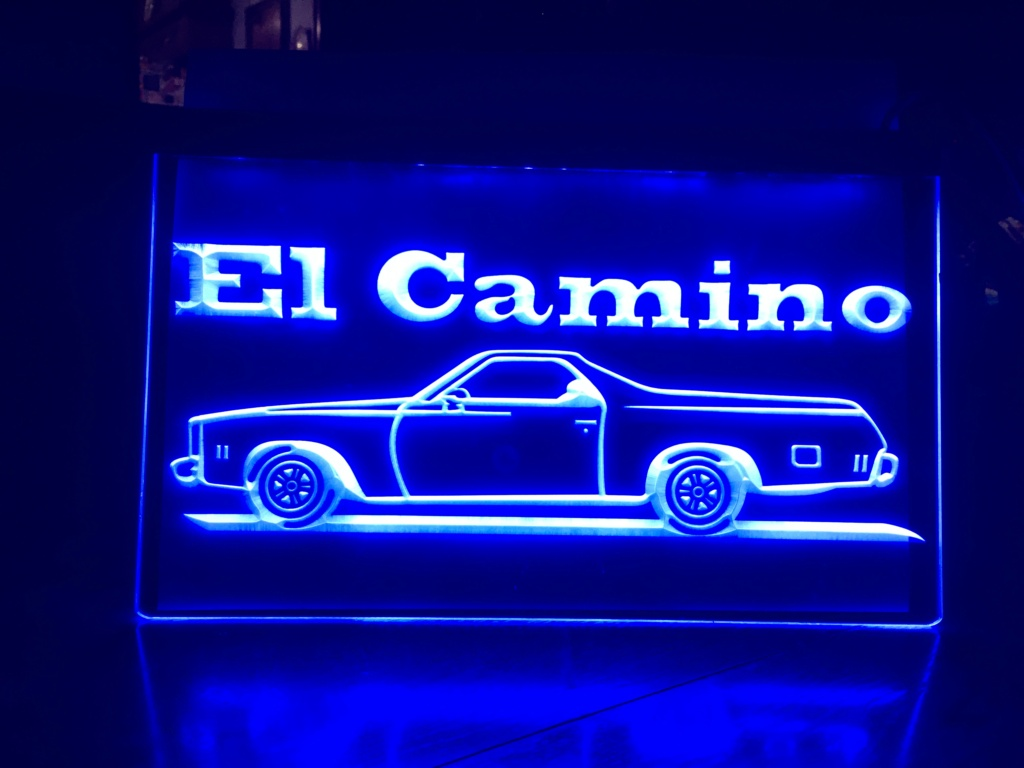 """8"""" x 12"""" Lighted Signs Chevelle, Laguna, Elcamino and NOW MONTE CARLO - Page 2 C266cf10"""