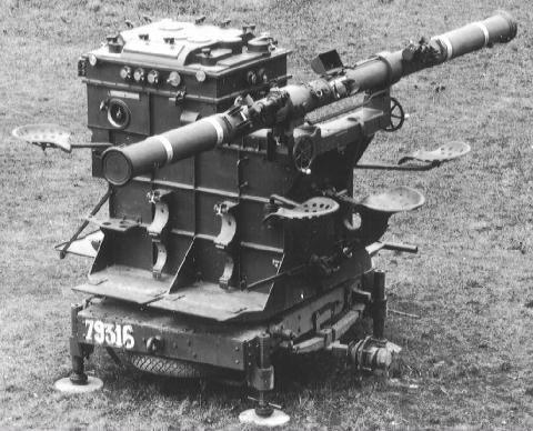 Remorque Poste central de tir Mle 32 pour batterie de 75 CA 13866710