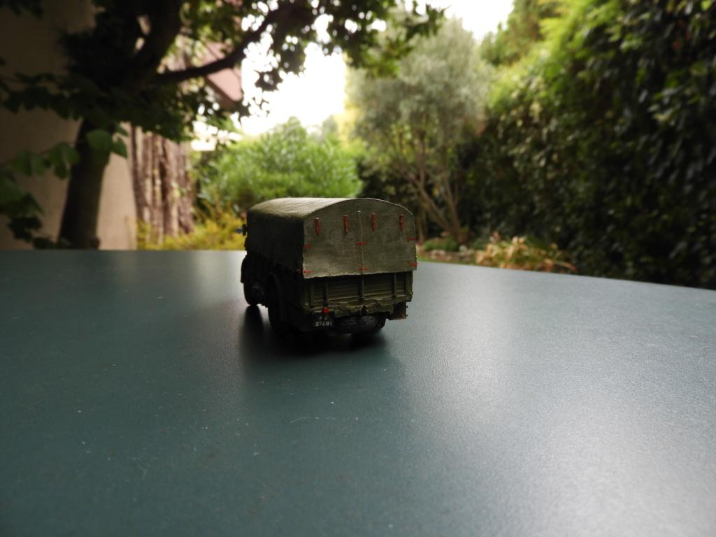Canon de 75 CA, PC de tir et tracteur Berliet GDLS au 1/72 Dscn1714