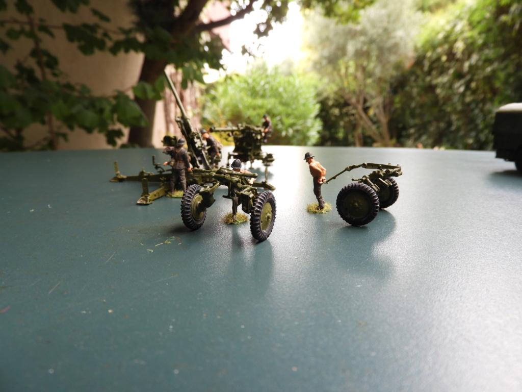 Canon de 75 CA, PC de tir et tracteur Berliet GDLS au 1/72 Dscn1717