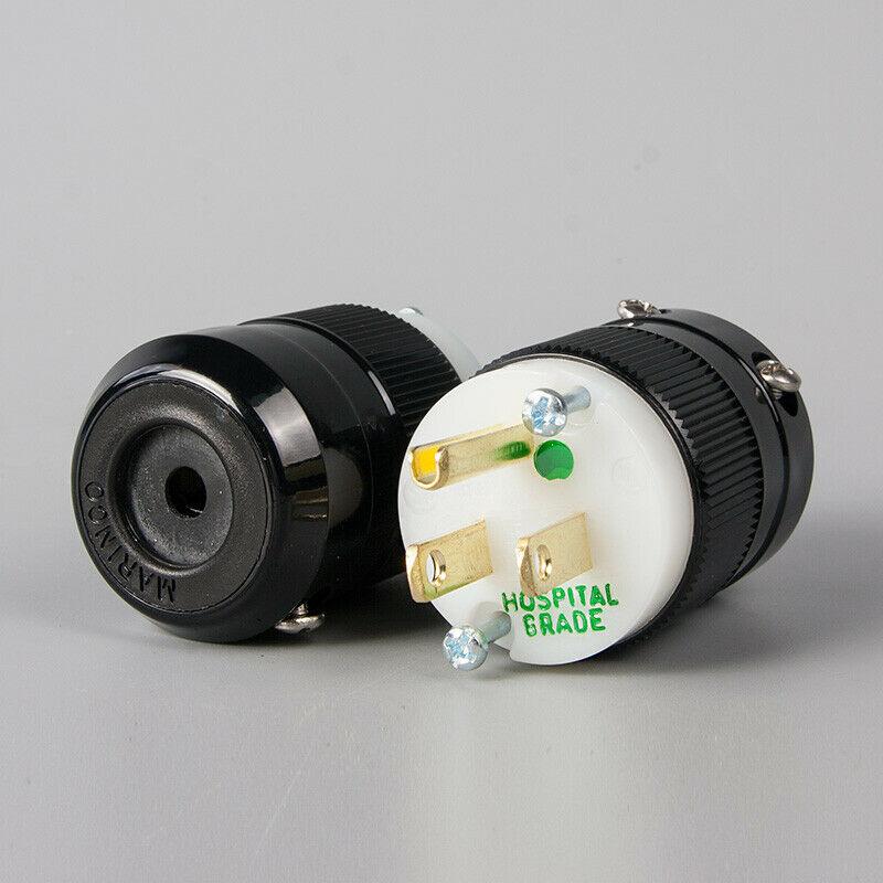 Marinco US 3-Pin Plug and IEC Plug USA Brand New Marinc10