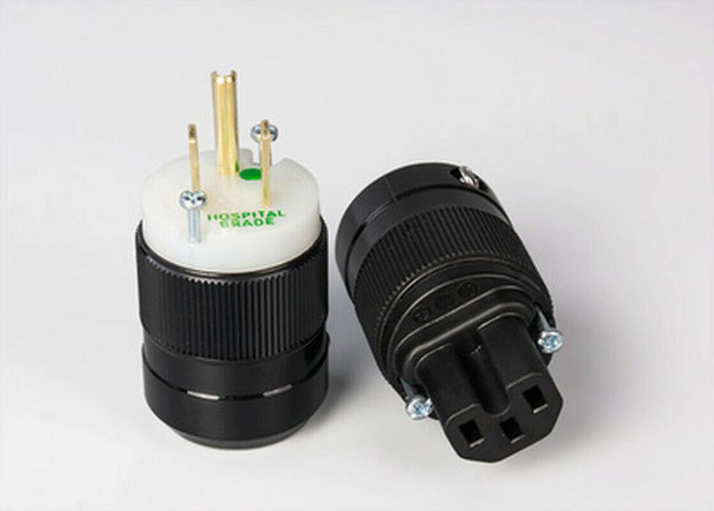 Marinco US 3-Pin Plug and IEC Plug USA Brand New Marinc11
