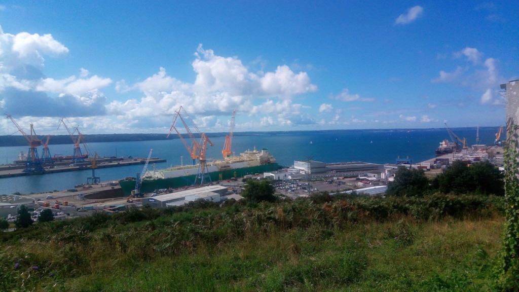 En direct de la rade de Brest Port10