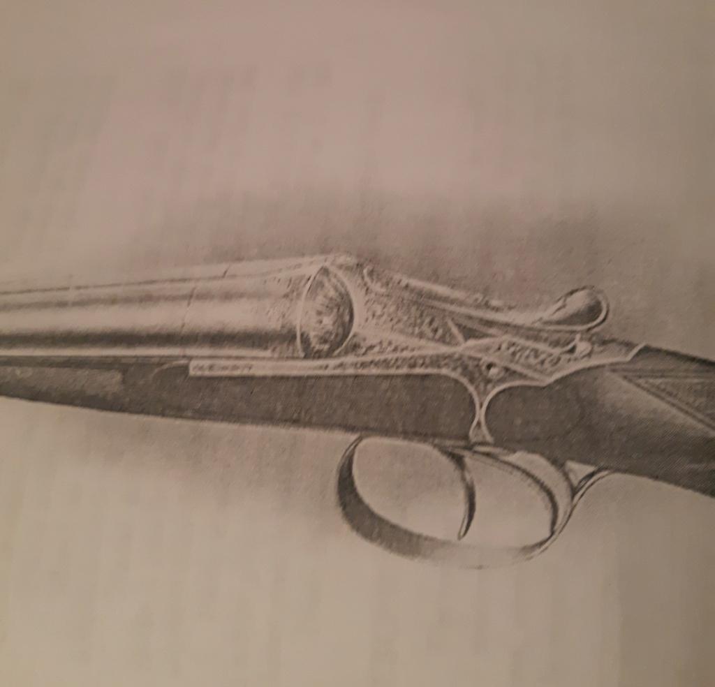 Fusil Darne Modèle 1891 à culasse ascendante Calibre 12/65 20201011