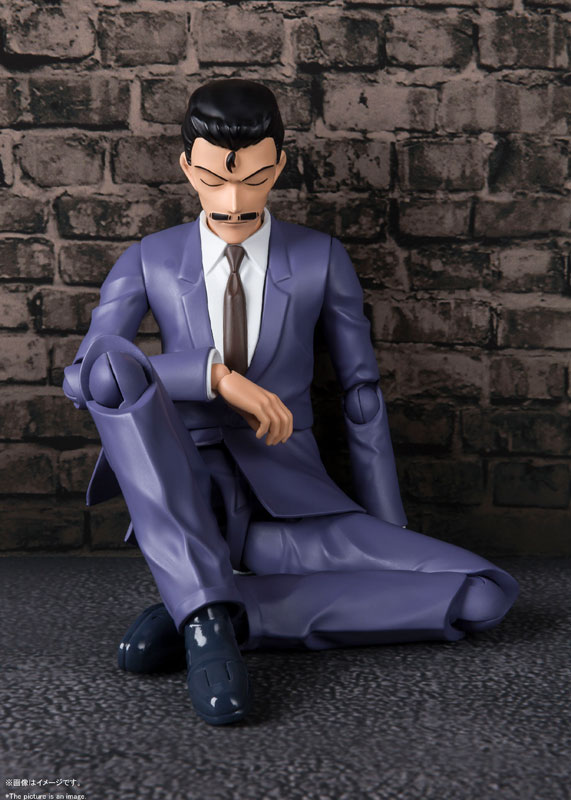 S.H. Figuarts Detective Conan - Kogorou Mori  15674012