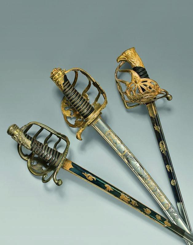 Sabre officier infanterie GARDE IMPÉRIALE (?) 15392610