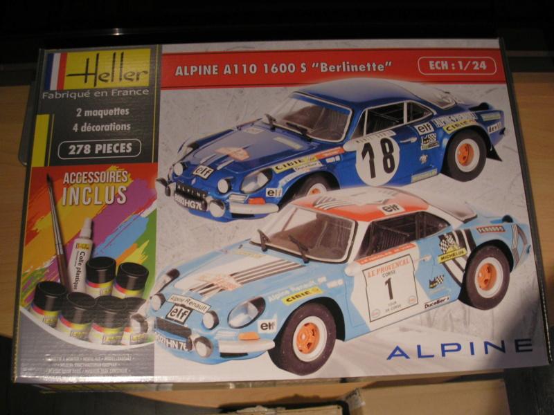 ALPINE A 110 S BERLINETTE 1/24ème Réf 80745 et 85745 Alpine15