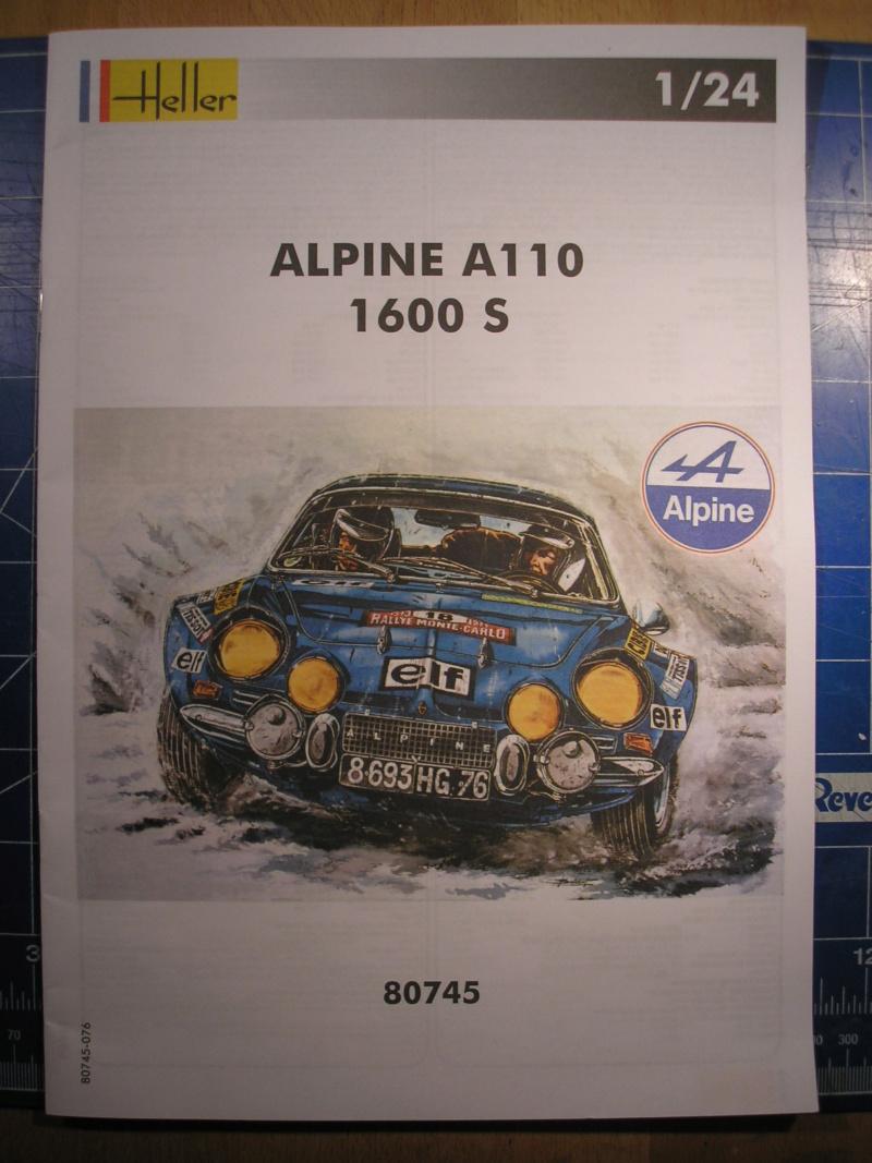 ALPINE A 110 S BERLINETTE 1/24ème Réf 80745 et 85745 Alpine16