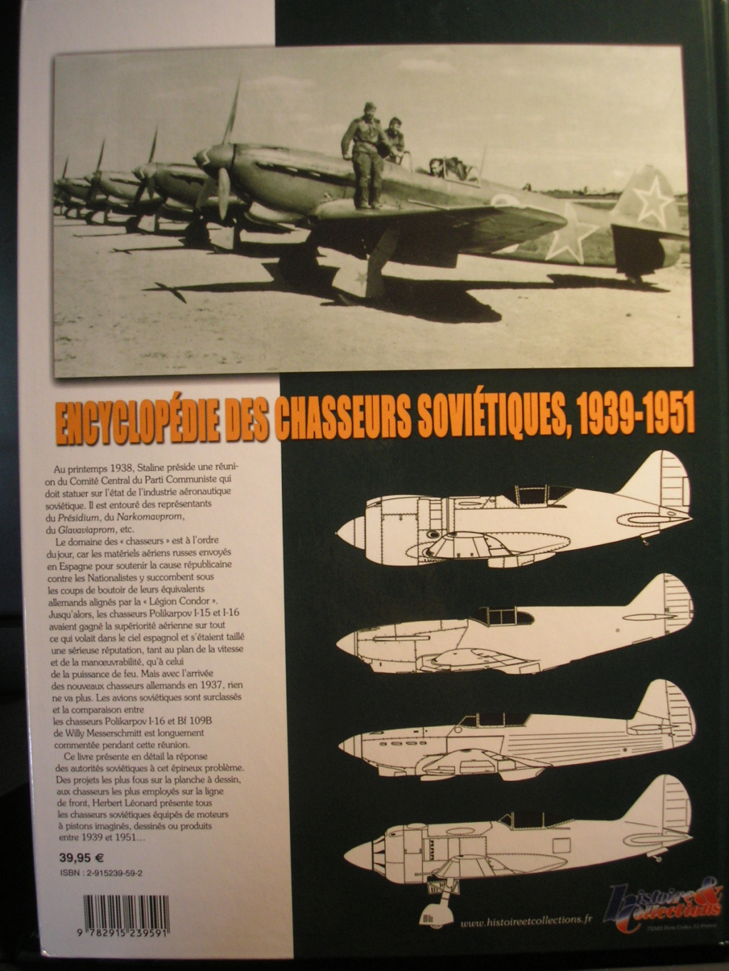 AERO-JOURNAL n°HS29 LES CHASSEURS YAKOVLEV  Chasse10