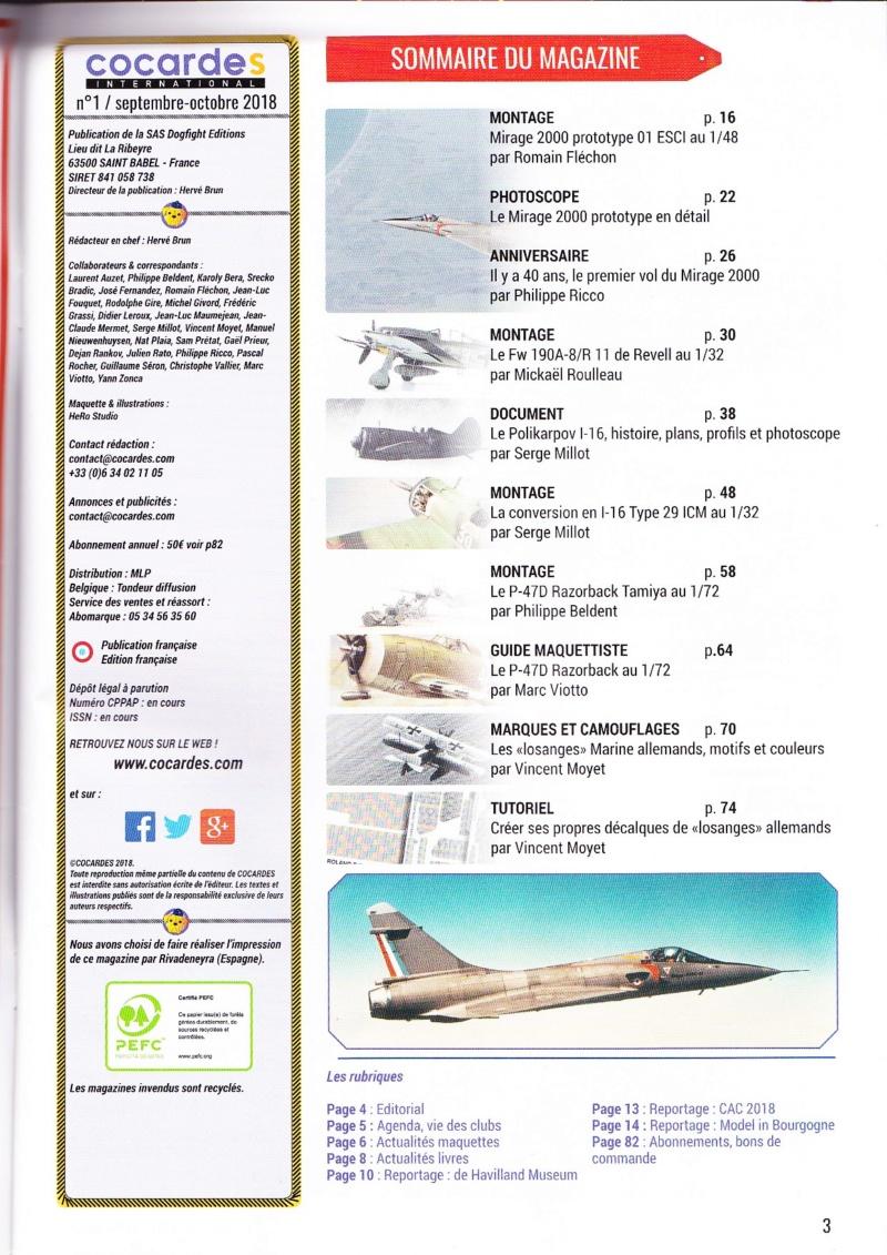 COCARDES INTERNATIONAL n°1 est en kiosque  Ci-111