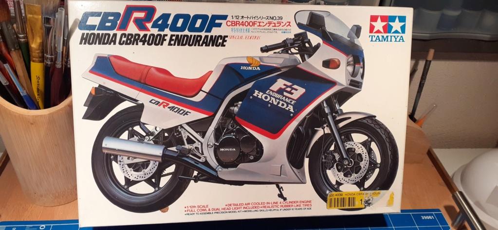 [TAMIYA] HONDA CBR 400F Endurance  1/12ème Réf 14039 Honda_14