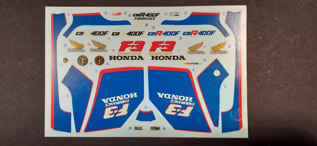 [TAMIYA] HONDA CBR 400F Endurance  1/12ème Réf 14039 Honda_28