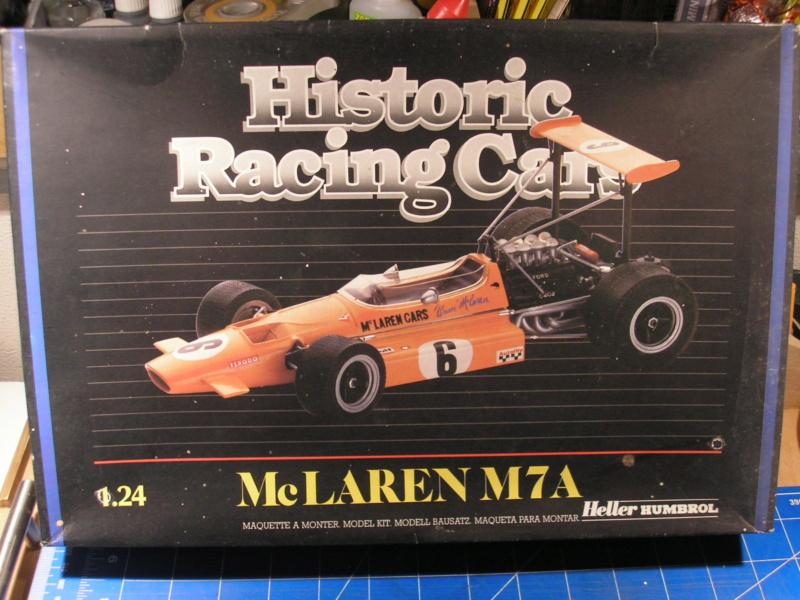 McLAREN M7A Formule I 1/24ème Réf L757 Mc_lar10
