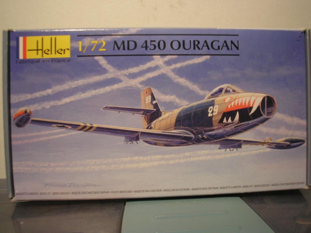 DASSAULT MD 450 OURAGAN 1/72ème Réf 80201 Md_our19