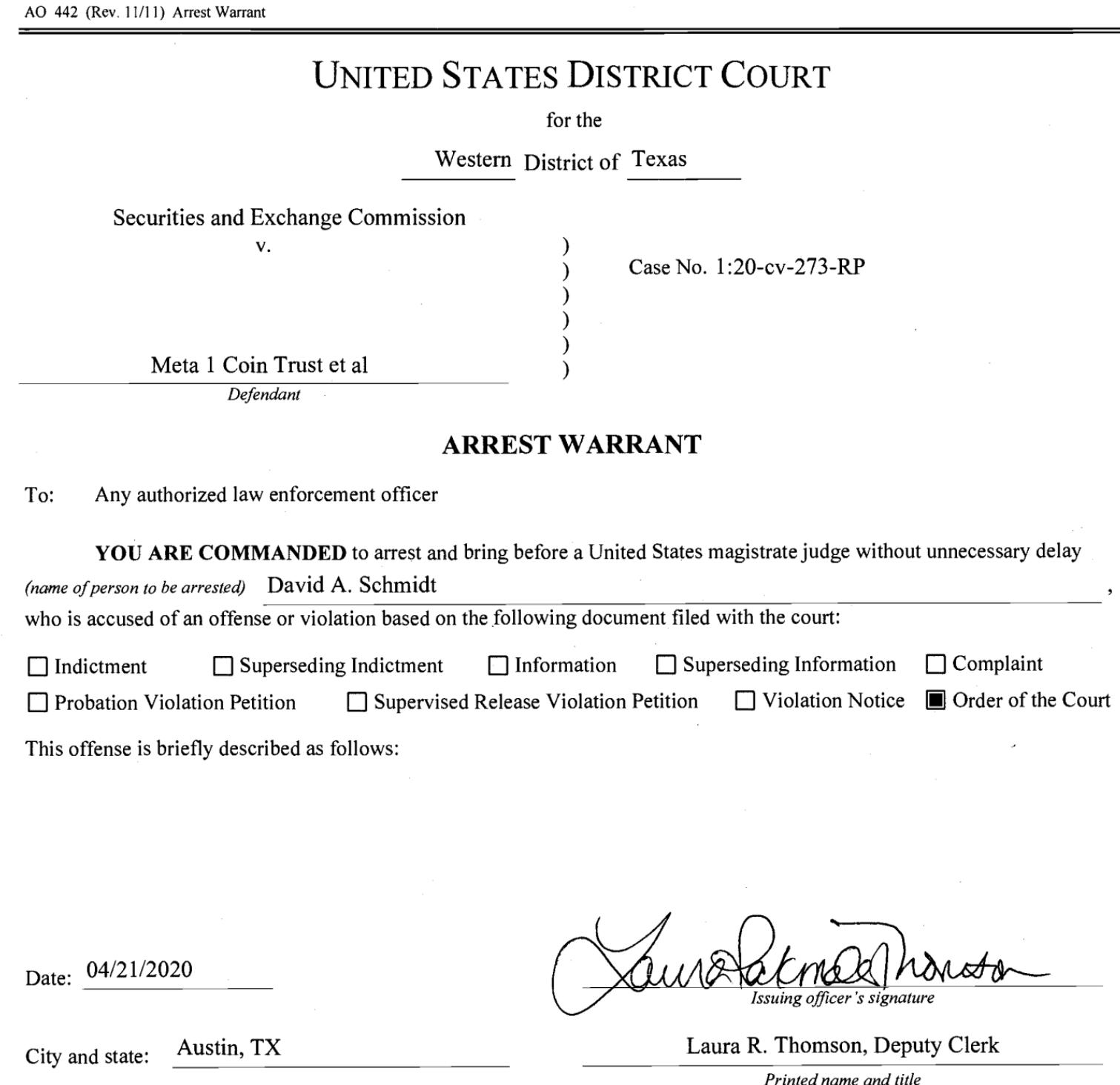 Dave Schmidt Phone Number and Arrest Warrant Dave_s10