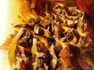 Слышен Трубный Звук Пророков!стих на Троицу, Пятидесятницу 10092410