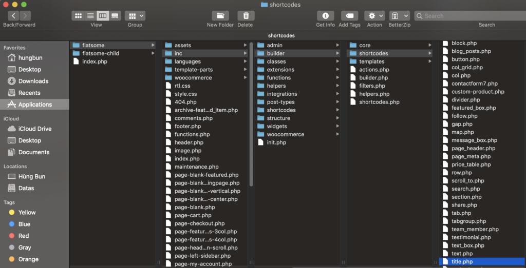[Thủ thuật] Thêm Danh mục vào Title ux builder flatsome Screen12