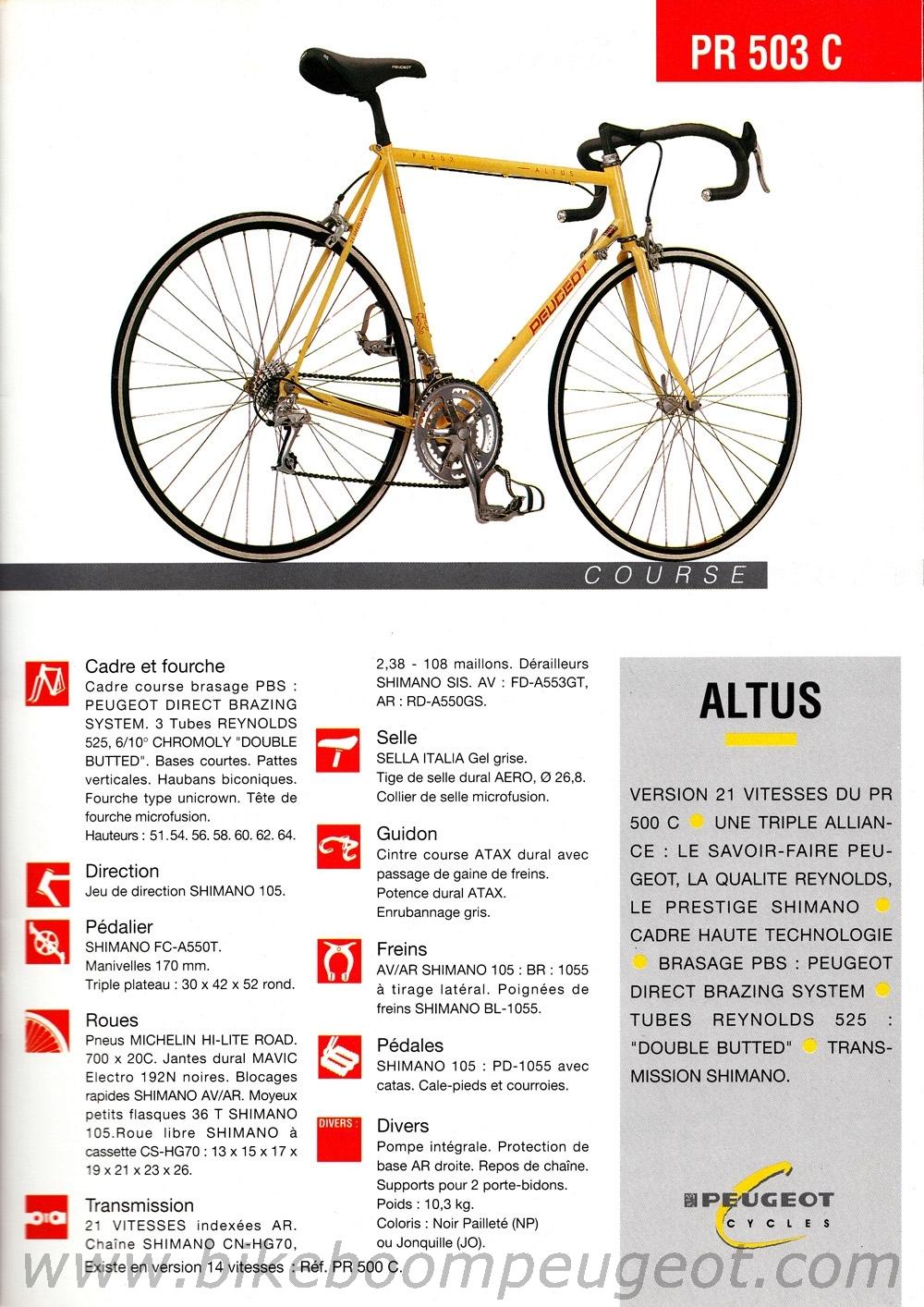 Peugeot Altus PR 503 1992 Cycles10