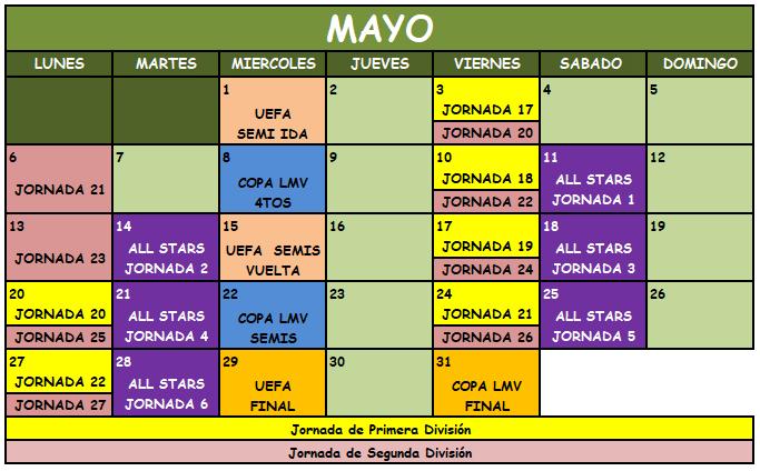 Liga Manager Virtual Mayo11