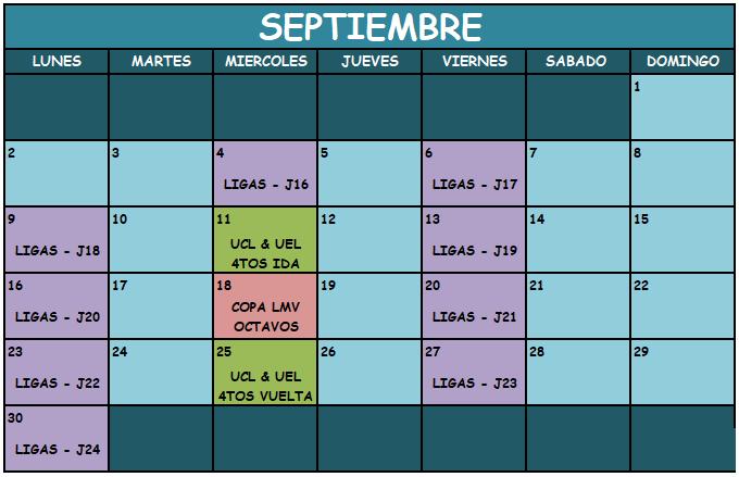 Liga Manager Virtual Septie11