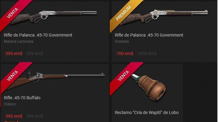OFERTA TIENDA: ROPA , RECLAMO, Y LOS TRES RIFLES 45-70 (12 DIC 18 ) 001_mi11