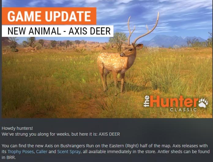 NUEVO ANIMALITO EN AUSTRALIA: CIERVO AXIS Animal10
