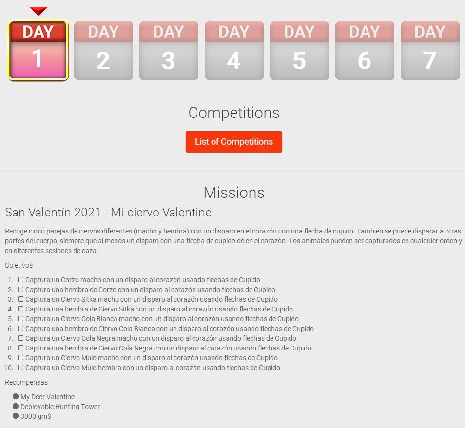 SAN VALENTIN 2021- DIA 1: DEL 10 al 12 Febrero CAZAR CON FLECHAS Dia_1_10