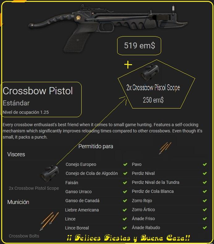 COMENTARIOS NUEVA ARMA: PISTOL CROSSBOW ( 2018) Pistol10