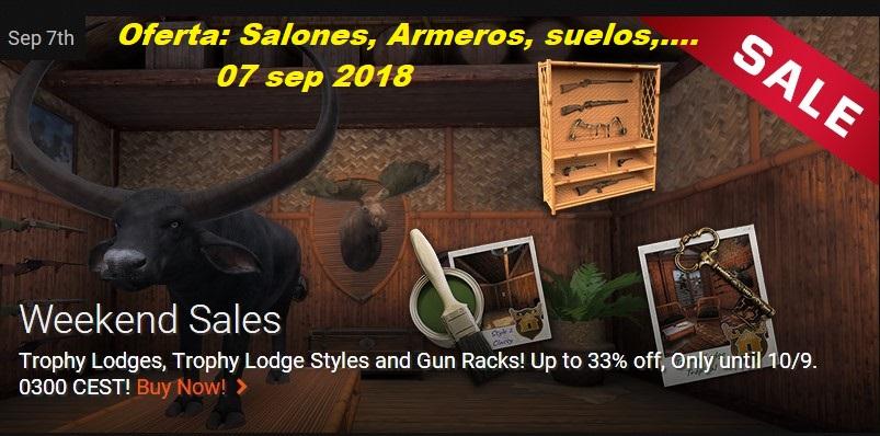 OFERTAS EN TIENDA: SALONES DE TROFEOS, ARMEROS, SUELOS (07/09/18) Saldo_10