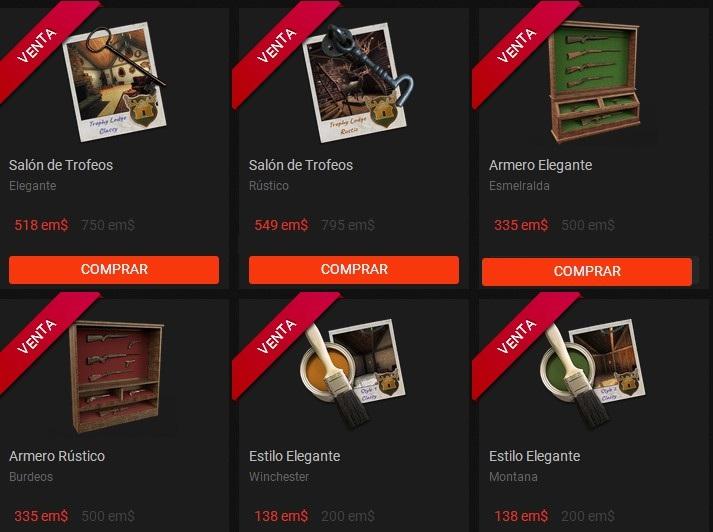 OFERTAS EN TIENDA: SALONES DE TROFEOS, ARMEROS, SUELOS (07/09/18) Salon_10