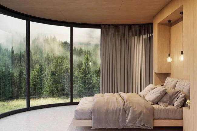 Lyon: Ils fabriquent des chambres aménagées à poser dans la nature D6bxo710