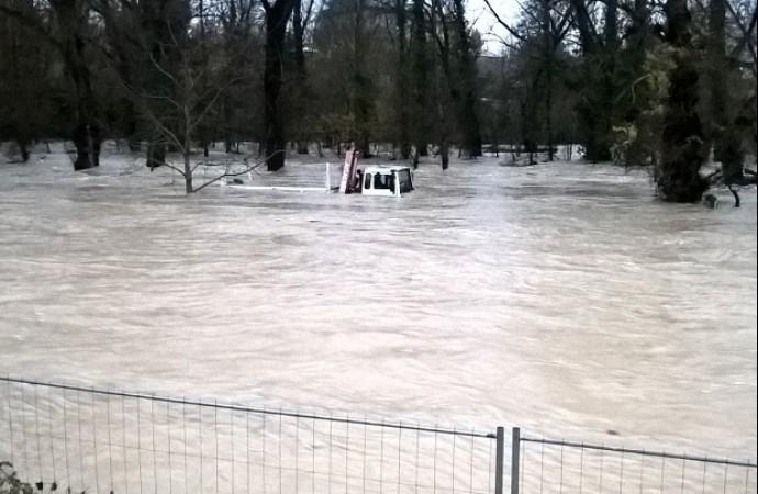 Intempéries : la situation se dégrade sur les Alpes-de-Haute-Provence Inonda10