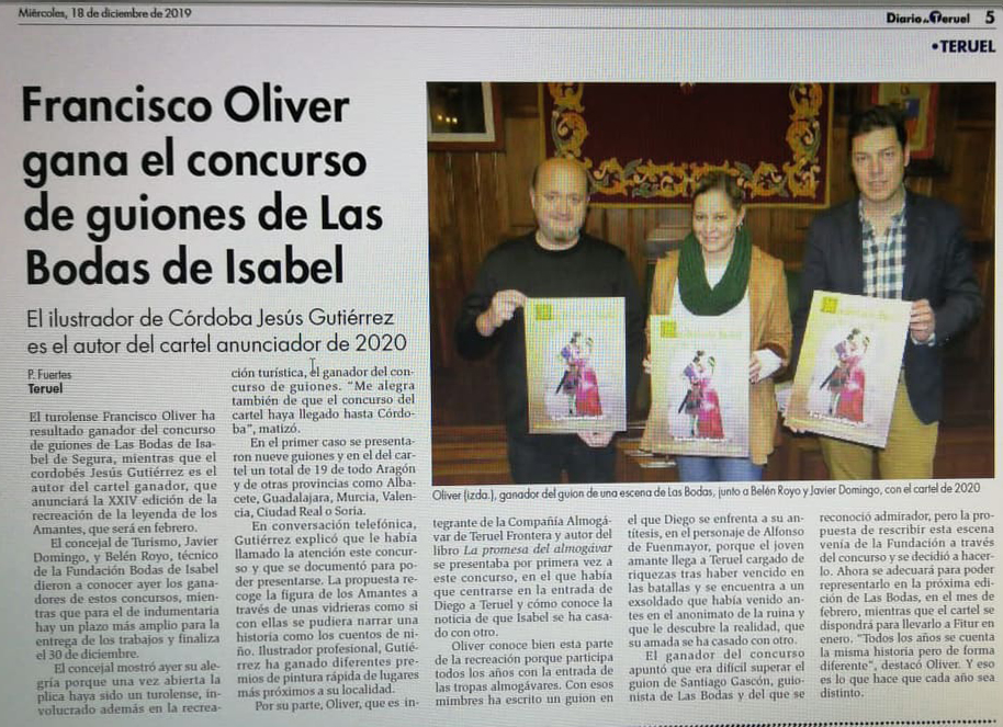 NUEVA EDICIÓN de La promesa del almogávar Oliver13