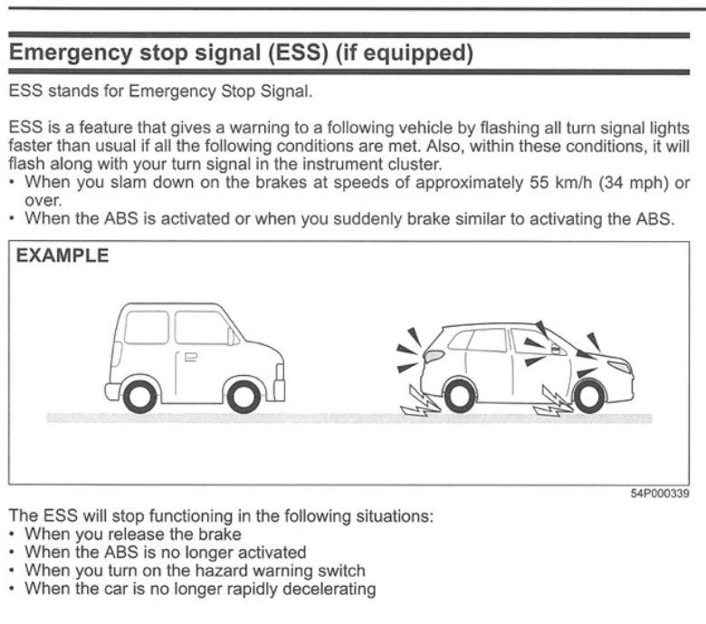Hidden feature or a minor stroke? Ess10