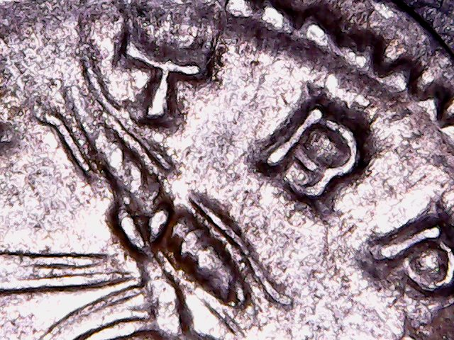 Denario de la gens Lutatia. Q. LVTATI - Q. Galera con cabeza de mujer y acrostolium. Roma. Aument10