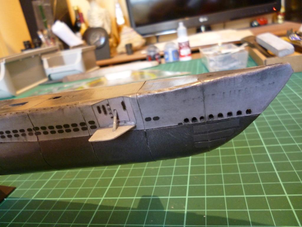 USS Archerfish, Halinski 1/200 gebaut von Wastel P1000630